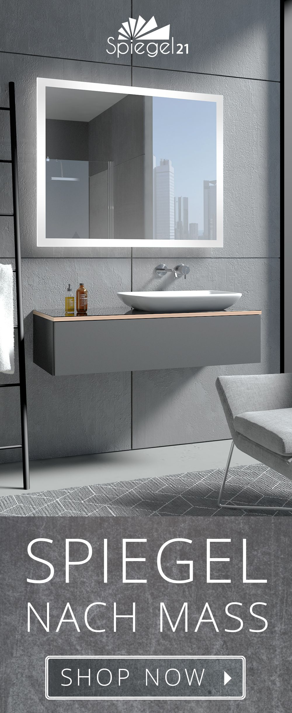 Led Badspiegel New York Stilvoller Spiegel Mit Beleuchtung Badspiegel Spiegel Mit Beleuchtung Badspiegel Led
