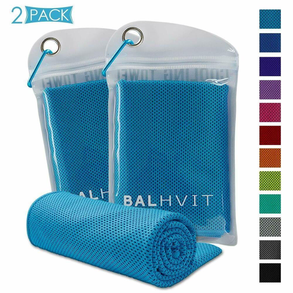 Ad Ebay Balhvit 2 Pack Instant Relief Cooling Towel Ice Towel