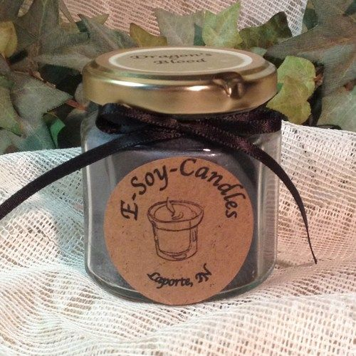 Dragon's Blood 4 oz Soy Candle