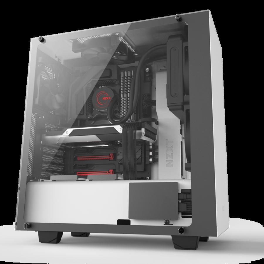 Intel Core I7 Nzxt S340 Elite Vr Custom Pc Gaming Pcs Desktop Setup