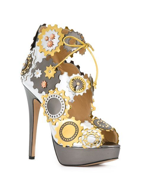 Biondini Paris Sandals Her Olympia In Step' Spring Charlotte qPYw066