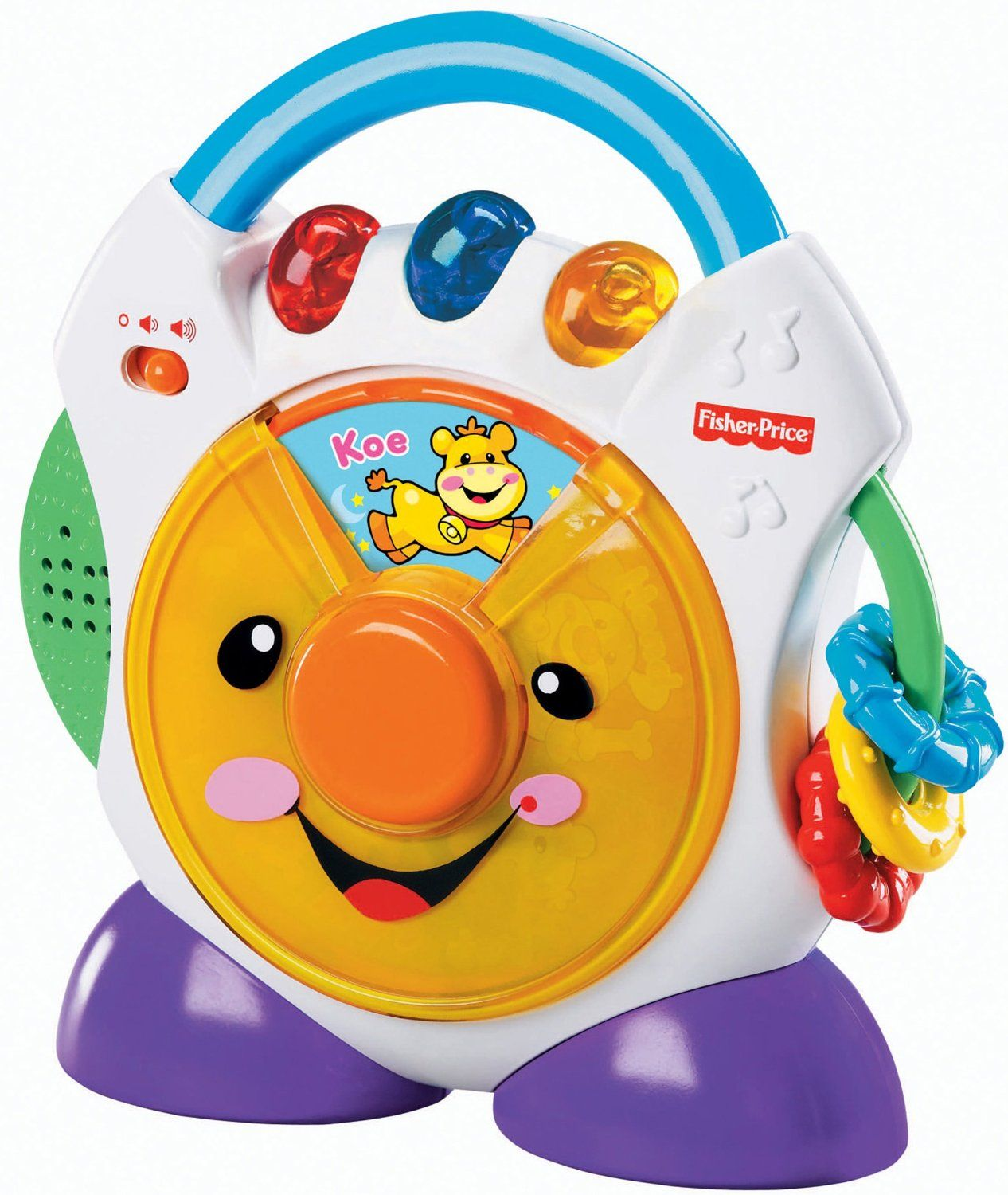 Fisher Price Laugh Learn Nursery Rhymes Cd Player In Greek H8162