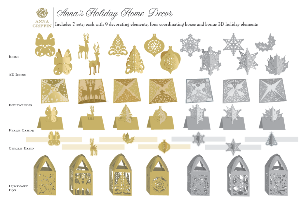 September 2017 Anna S Blog Holiday Home Décor Cartridge The New Gold