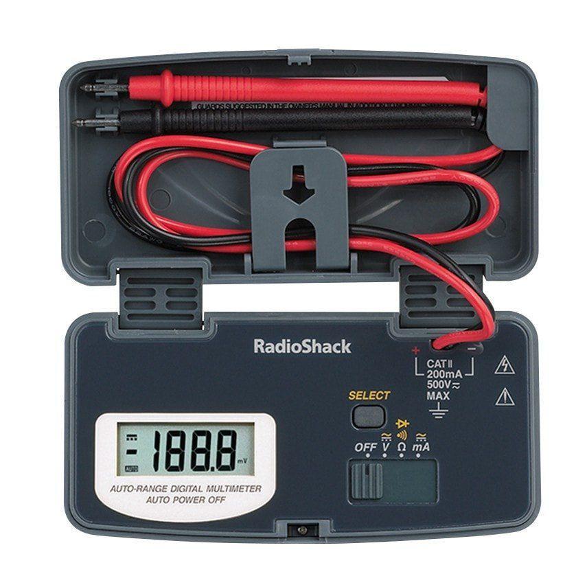 RadioShack 22Range Pocket Digital Multimeter Multimeter