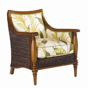 Island Estate Agave Wicker Chair By Tommy Bahama Home In