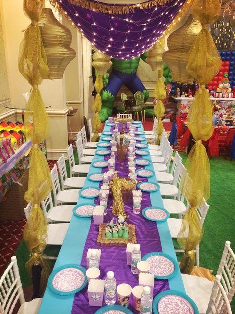 Princess Jasmine Birthday Party Ideas Party Ideas Jasmin Theme