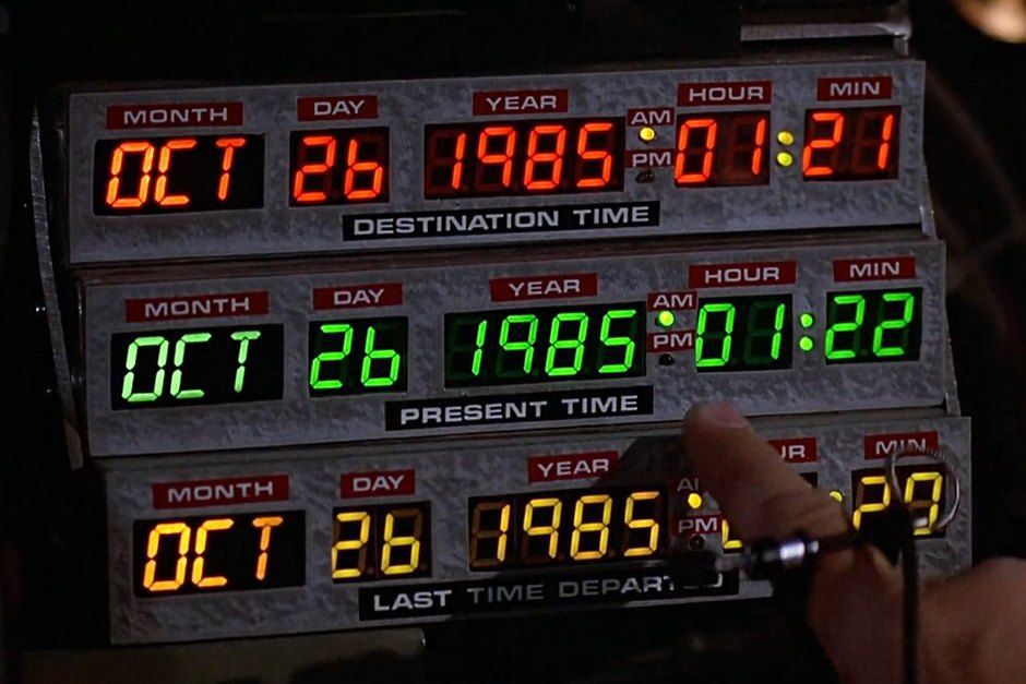 The ultimate guide to analog control panels in sci-fi movies | Retour vers  le futur 2, Retour vers le futur, Marty mcfly