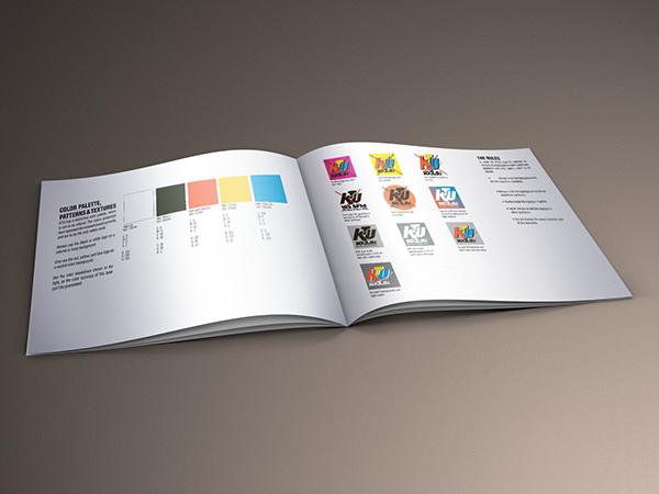 KTU Brand Guidelines 2013 on Pantone Canvas Gallery