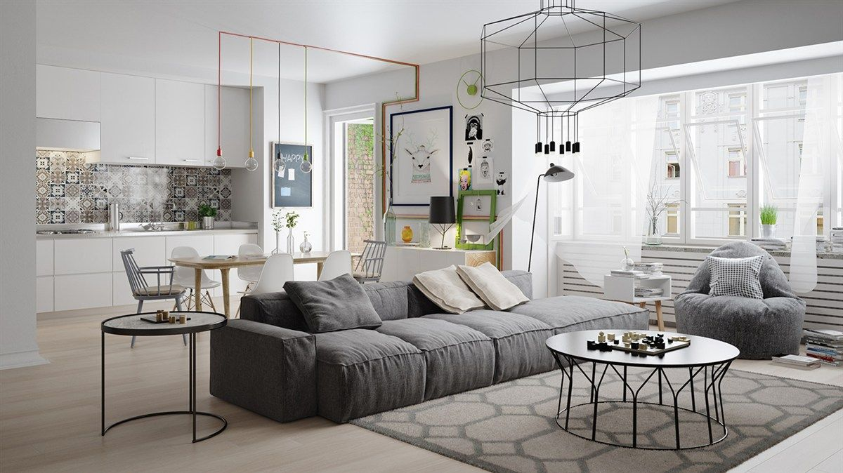10 Stunning Apartments That Show Off The Beauty Of Nordic Interior Design Scandinavian Design Living Room Living Room Scandinavian Scandinavian Decor Living Room