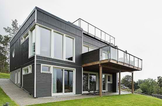 story hillside with rooftop terrace also shelter in house rh pinterest