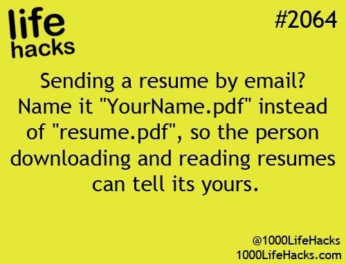 Resume Work-related Pinterest Life hacks - resume tips and tricks