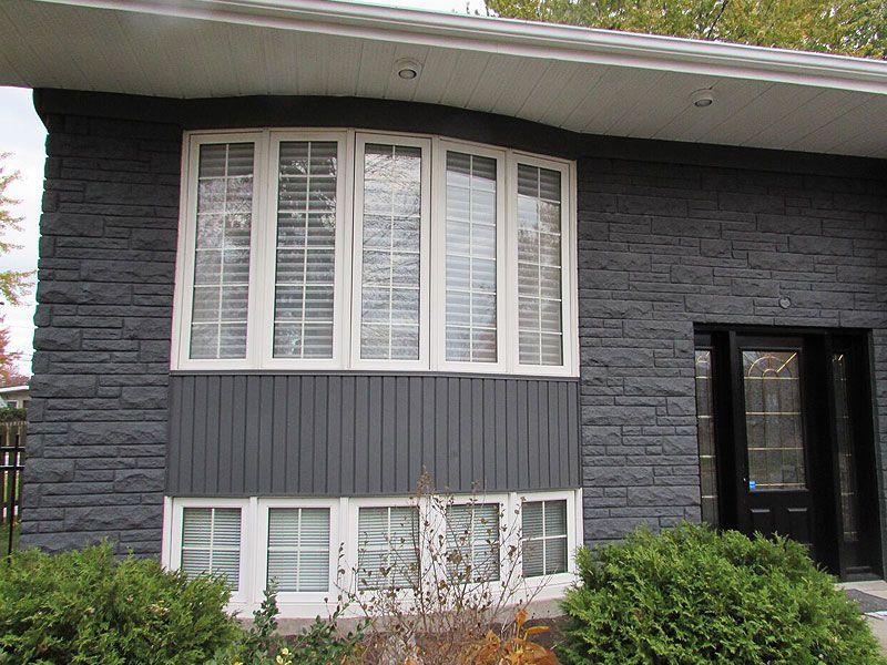 Painted Stone Siding Stone Siding Exterior Exterior Stone House Paint Exterior