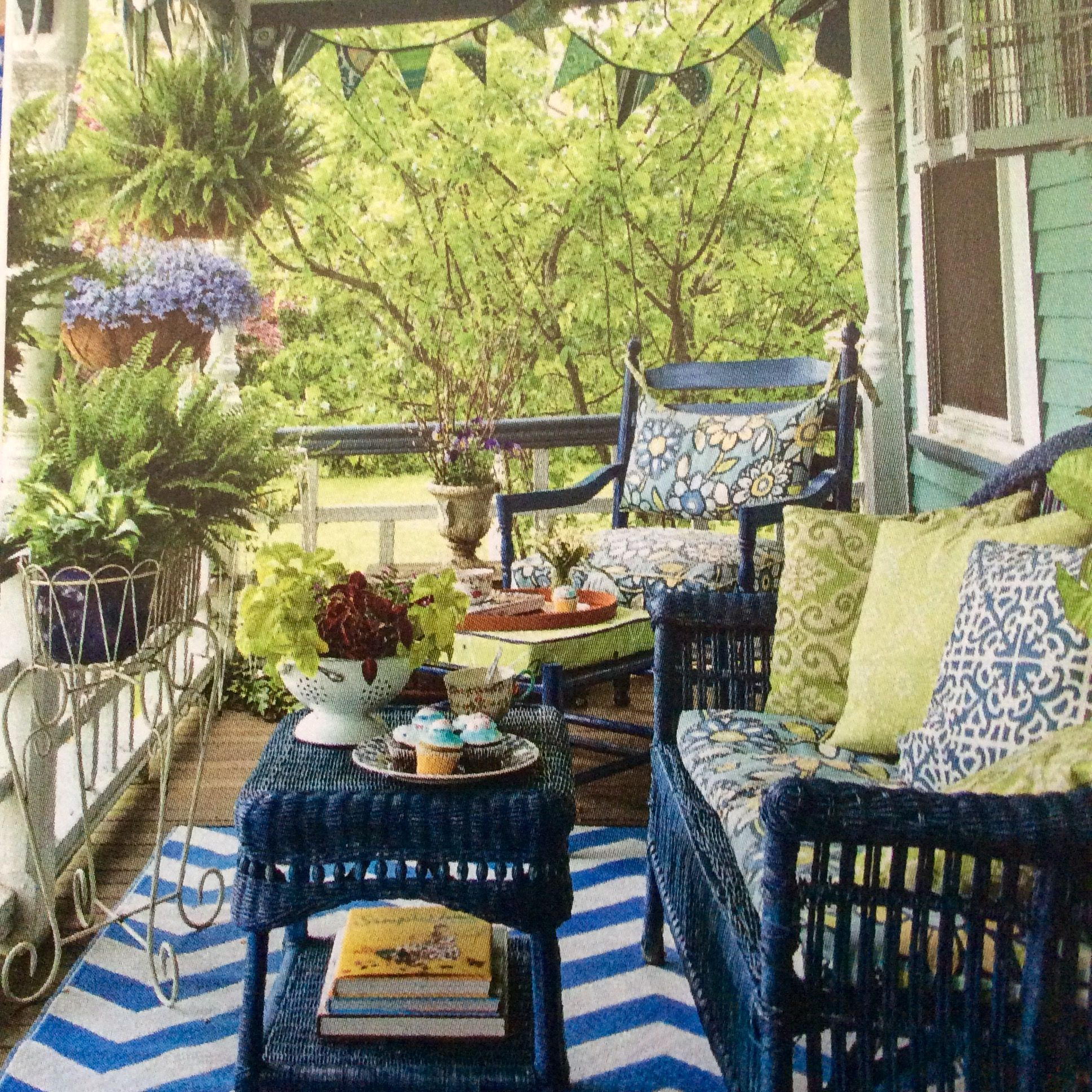 Pin by Stephanie Seipert on Design: Porches & Outdoor ... on Living Spaces Patio Set id=73641