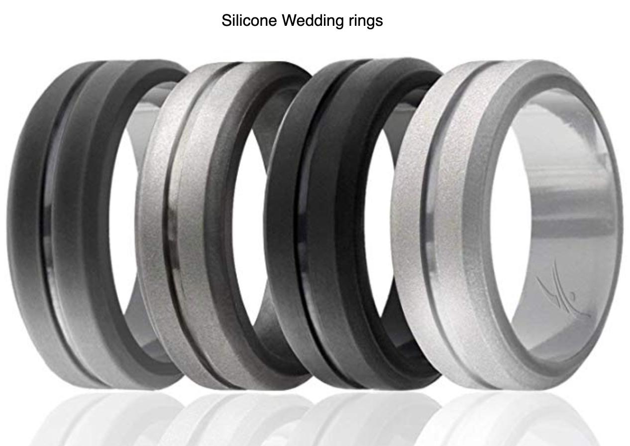 Silicone Wedding Ring Silicone Wedding Rings Rubber Wedding Band Mens Wedding Rings