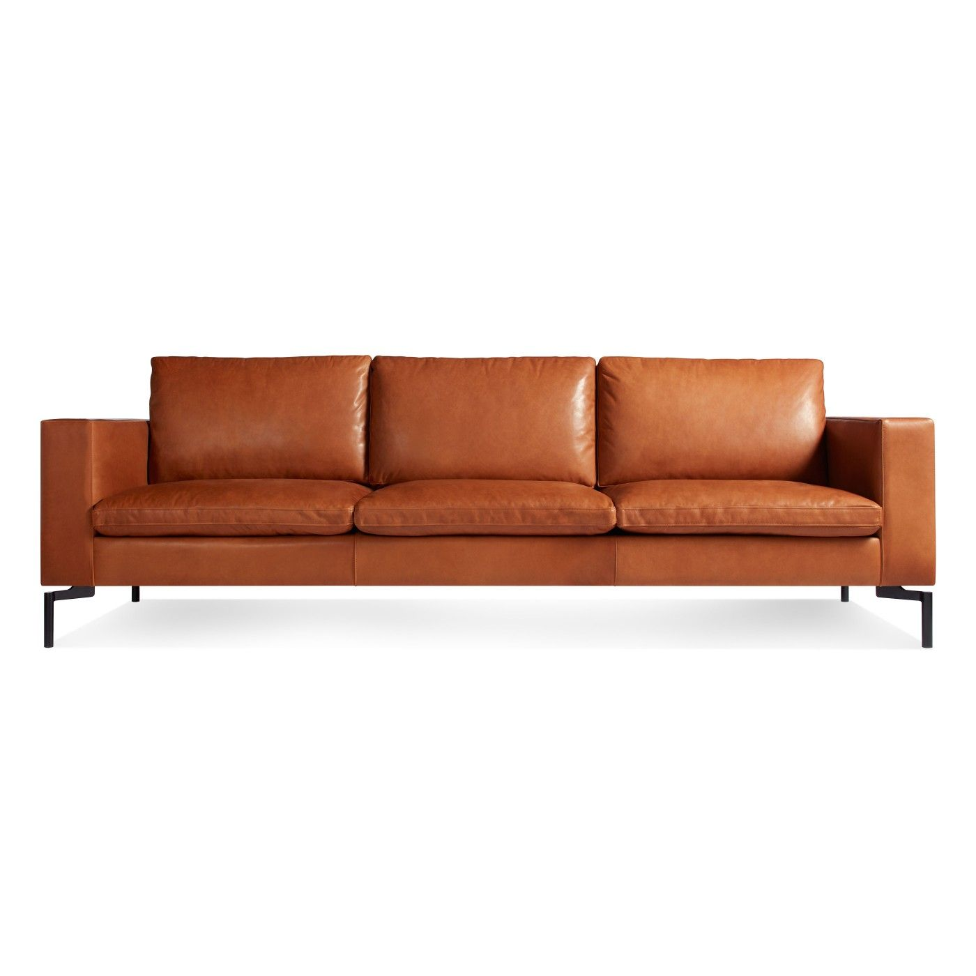 The New Standard 92 Leather Sofa