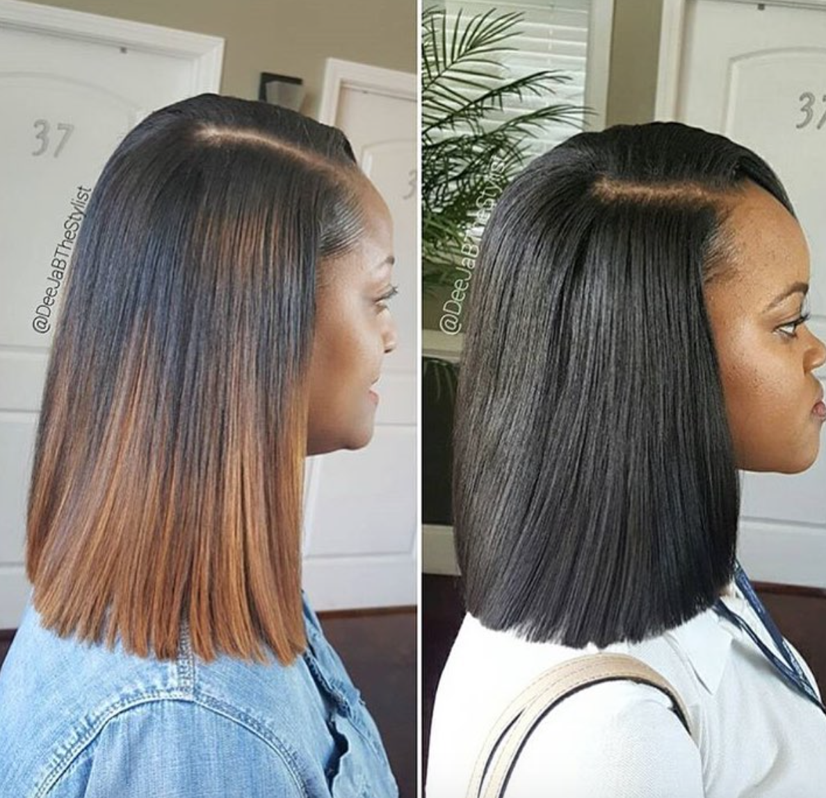 Amazing Sew In Vs Quick Weave By Deejabthestylist Quick Weave Hairstyles Hair Weave Hairstyles