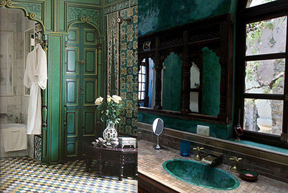 Marokkanisches Badezimmer: 2018 Badezimmer Trends aus dem Osten