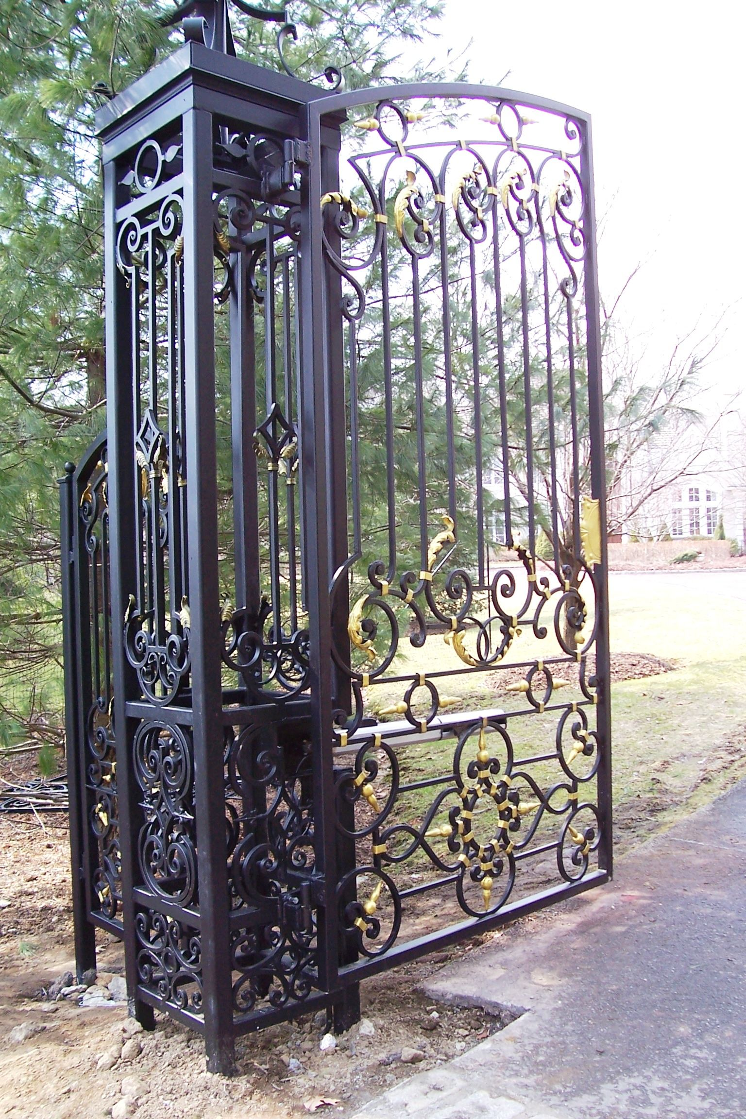 Wrought Iron Gate design Wrought iron Pinterest