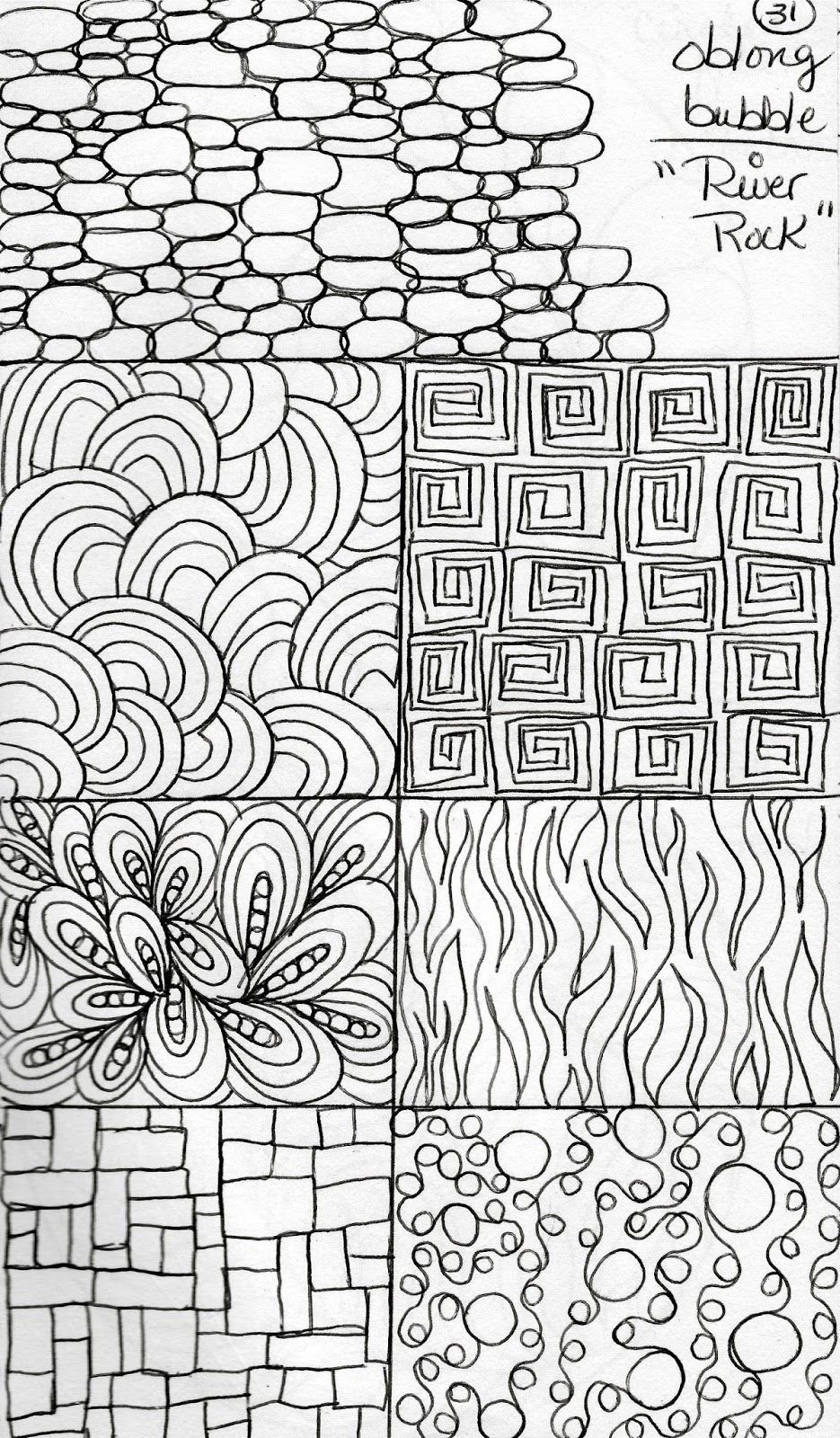 Pattern Doodle Interesting Design Inspiration
