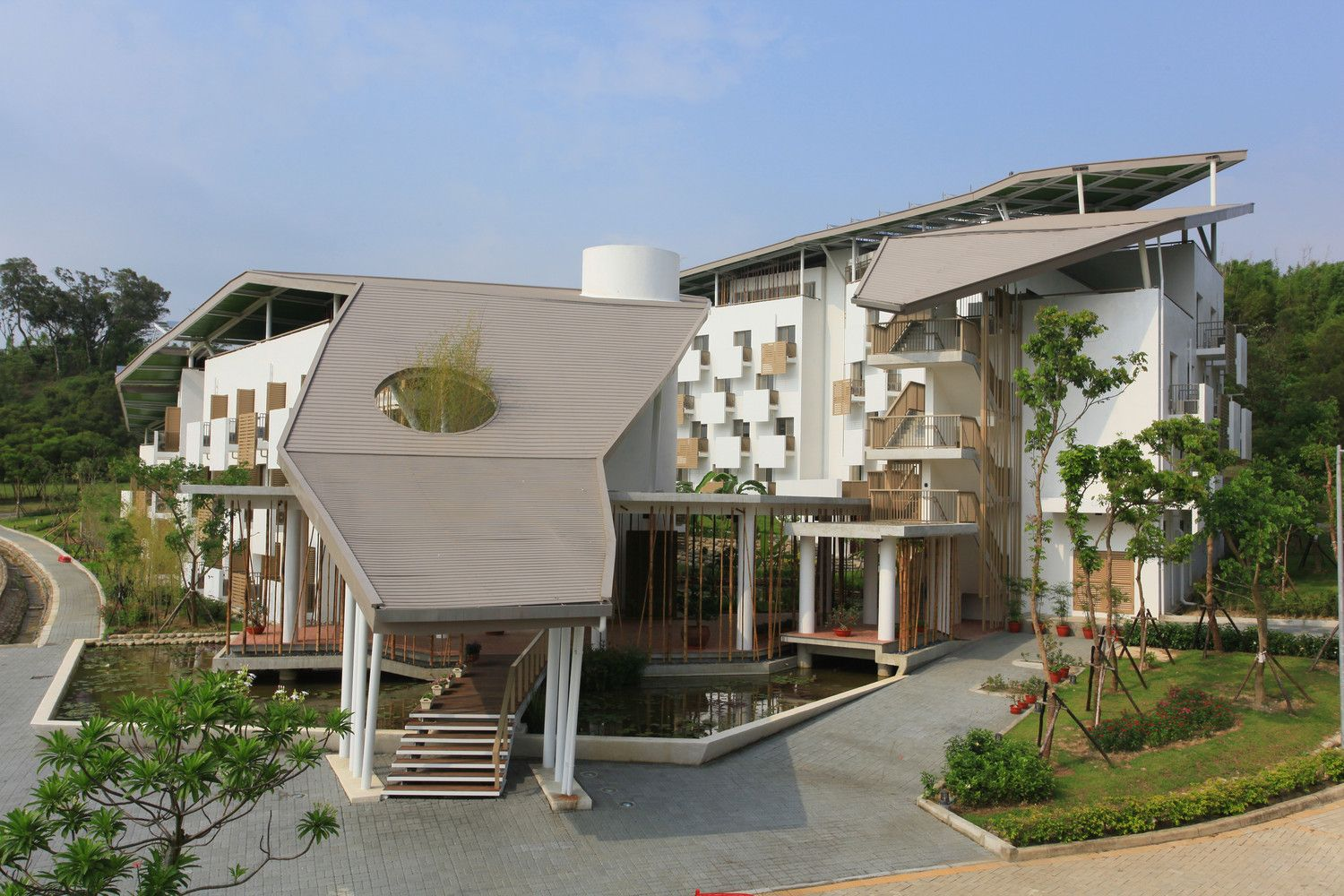 Architecte Bures Sur Yvette gallery of dormitories for itri southern taiwan campus / bio