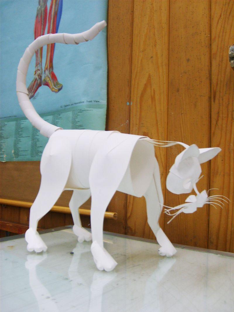 Via papercraft animal by swordtosoul on deviantart cat in via papercraft animal by swordtosoul on deviantart jeuxipadfo Image collections