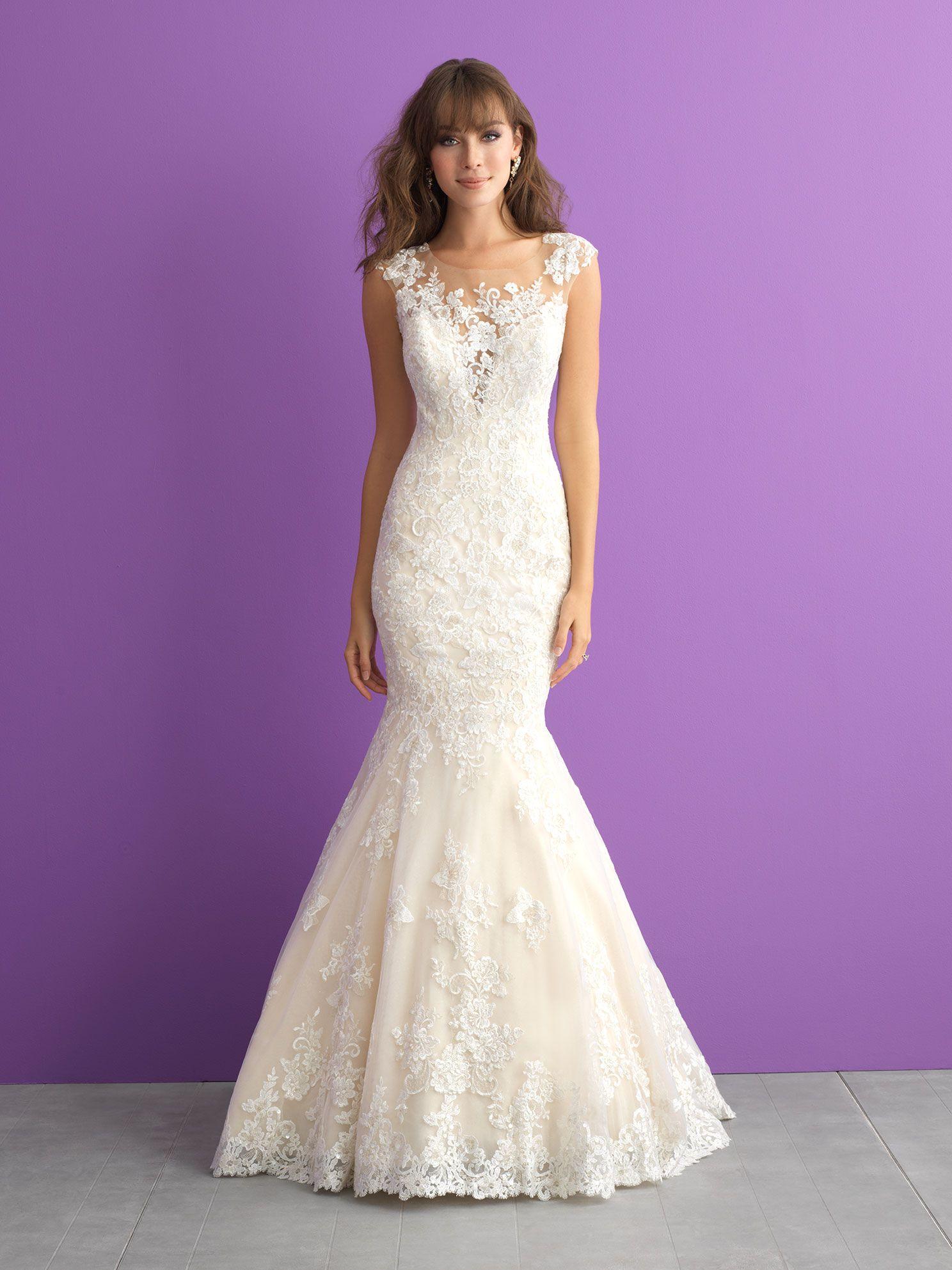 Vestido de Novia Allure 3003 - Maribel Arango Novias | vestido de ...