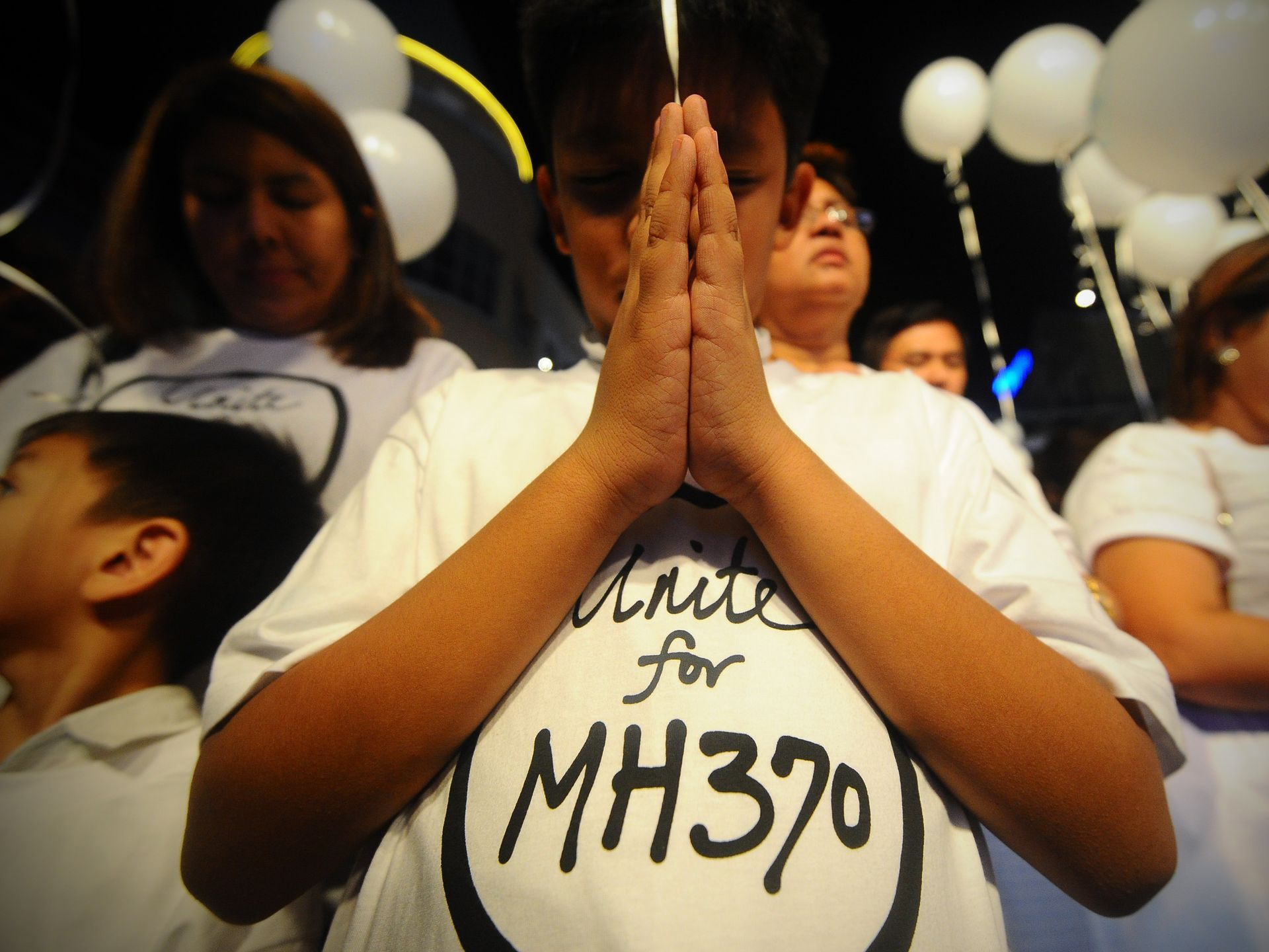 Prayer for the victims and families of the Malaysian