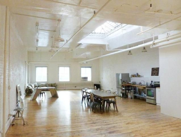 Great Skylight In This Large Soho Live Work Loft Live Work Lofts Loft Skylight