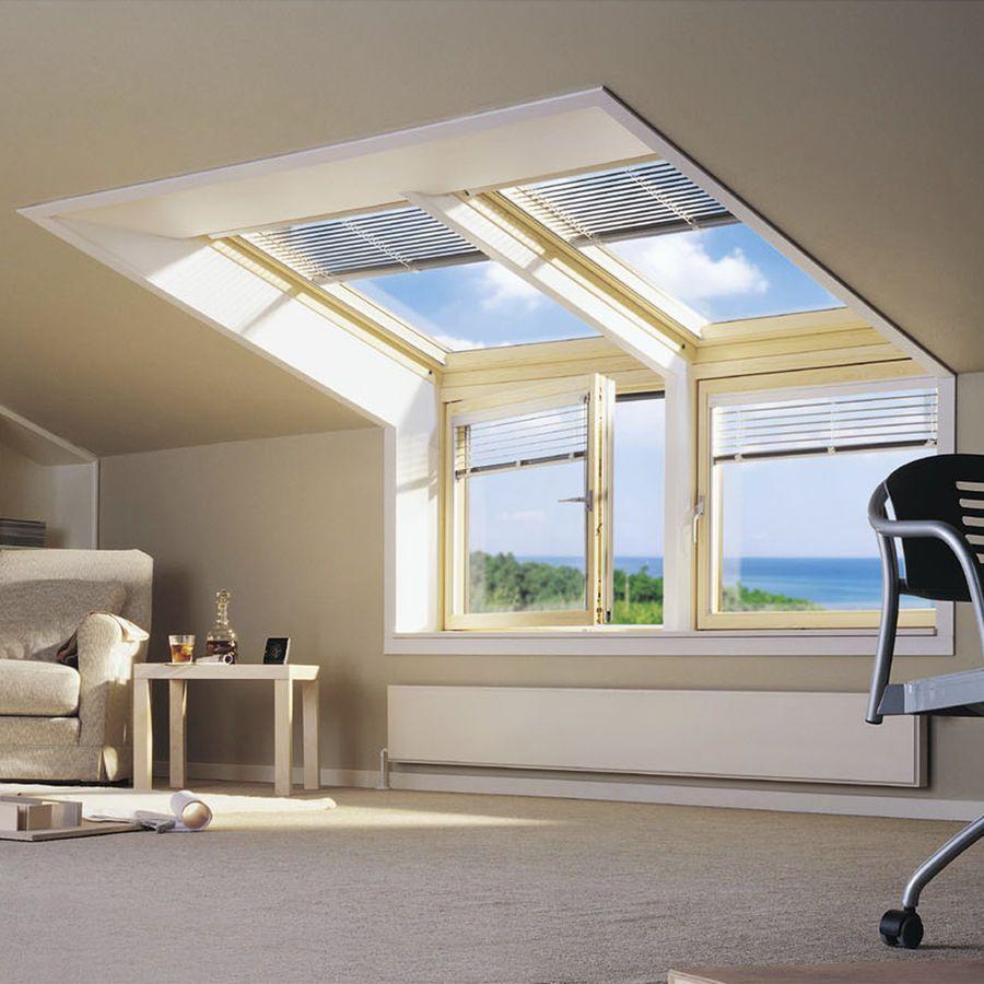 Corner Roof Window Vfa Vfb Velux Dachboden Renovierung Haus Grundriss Dachboden Loft