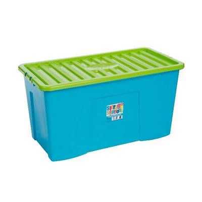 110 Litre Box And Lid Blue and Green  sc 1 st  Pinterest & 110 Litre Box And Lid Blue and Green | cuarto bebe | Pinterest