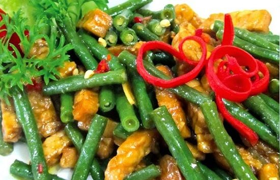 Resep Tumis Kacang Panjang Tempe Pedas Tumis Resep Masakan Masakan