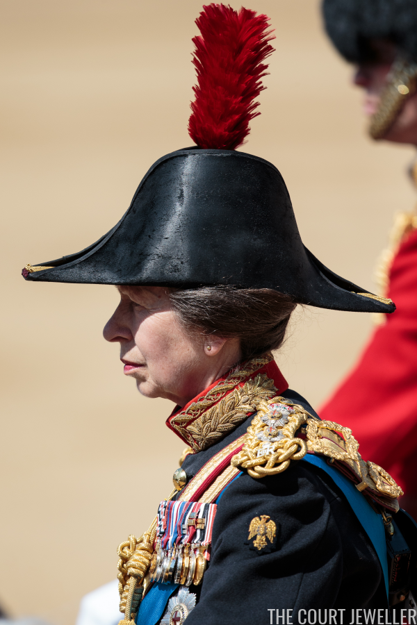 thecourtjeweller: Trooping the Colour 2017, June 17, 2017-Princess Royal