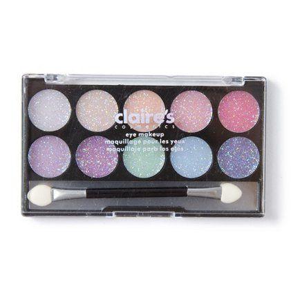 pastel glitter eye makeup kit  claire's  eye makeup kits