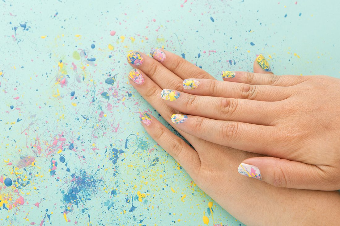 This Pinterest Beauty Trend Is the Must-Try Manicure of the Summer via Brit + Co