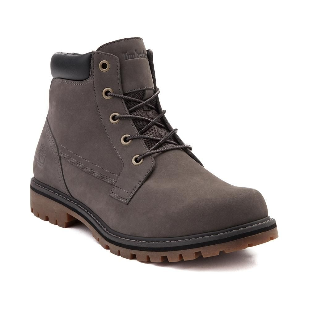 Timberland Mens Boots Brown Newmarket Chukka Lace Up Leather