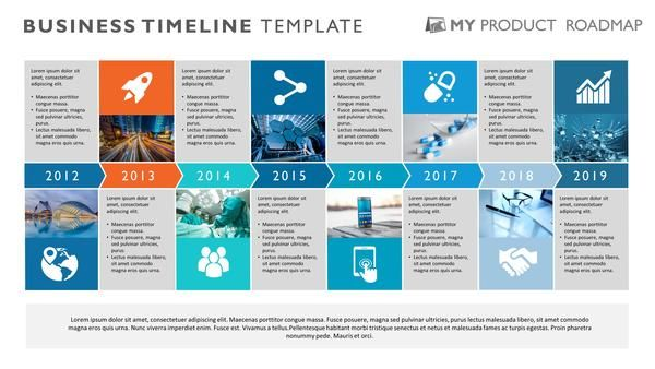 Eight Phase Project Timeline Template Timeline, Template and