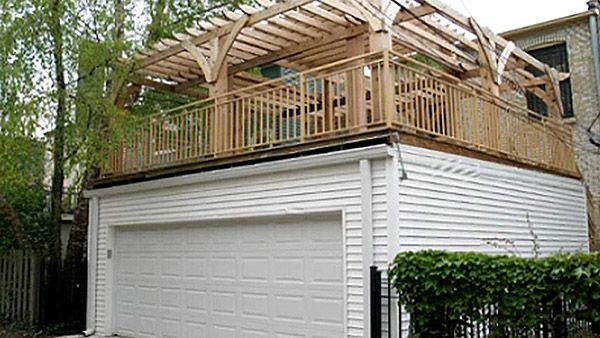 Danley S Has Been Building Flat Roof Garages Since 1959 Get A Free Quote Now For Your Next Deck Over Garage Building Proj Patio Roof Pergola Shade Diy Pergola