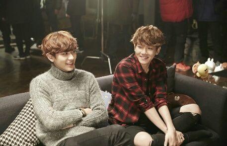 Imagen de exo, chanyeol, and baekhyun