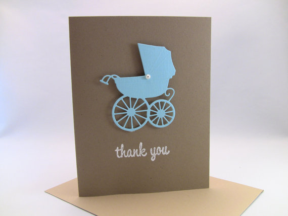 Set of 10 3 d handmade baby boy thank you cards baby shower thank craft set of 10 3 d handmade baby boy thank you cards baby shower thank solutioingenieria Images