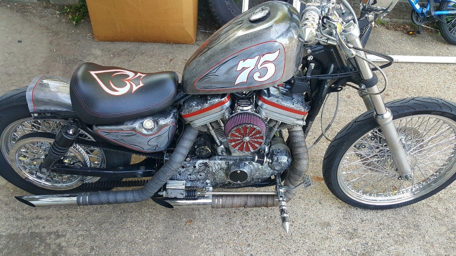 EBay 1990 Harley Davidson Sportster 1200 Harleydavidson