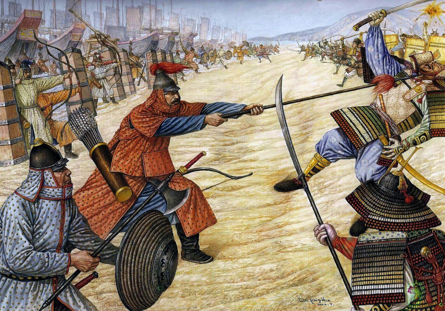 Pin on Mongol War Art