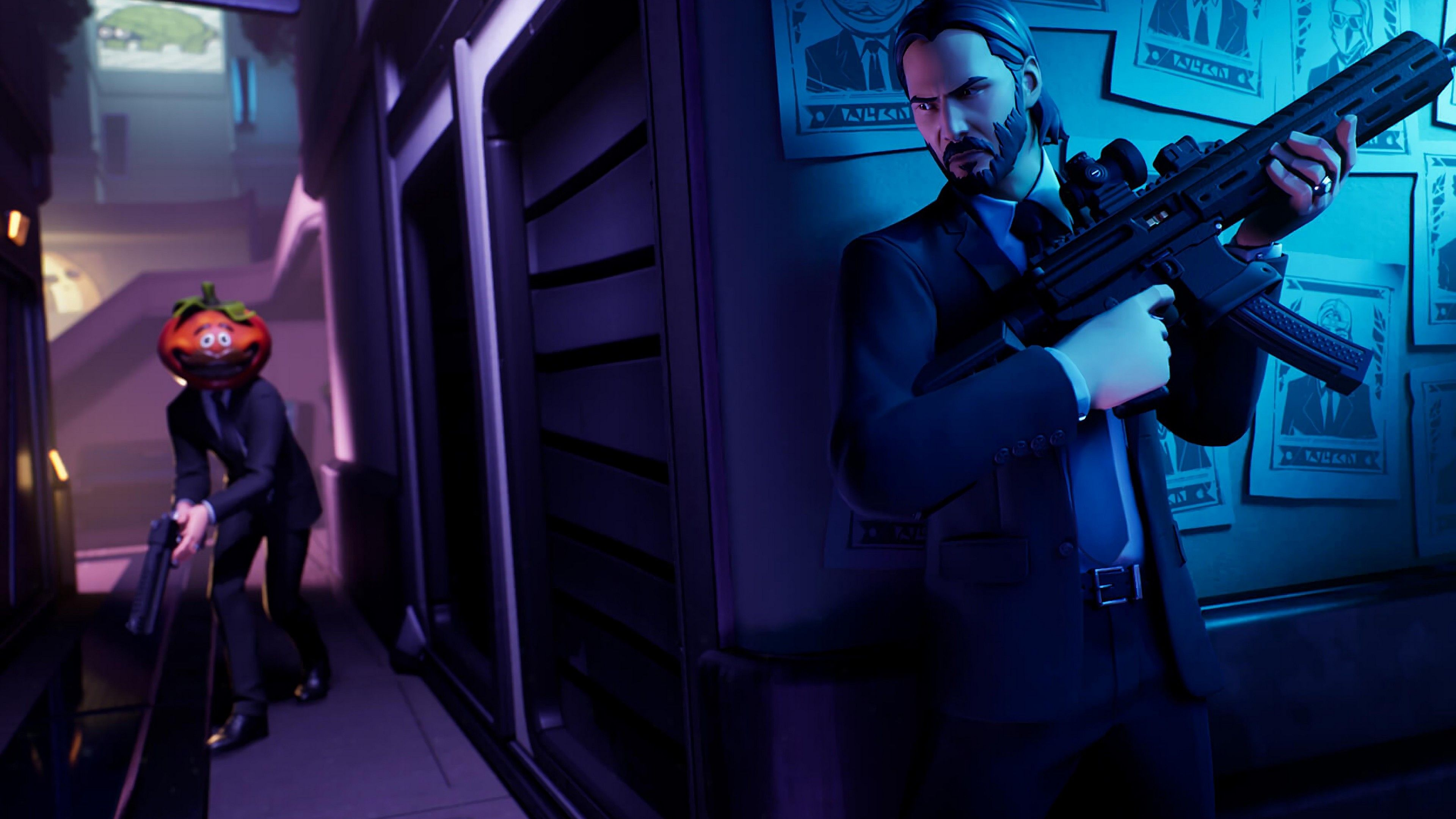 John Wick In Fortnite John Wick Wallpapers Hd Wallpapers Games Wallpapers Fortnite Wallpapers 4k Wallpapers Fortnite John Wick Star Trek Chess