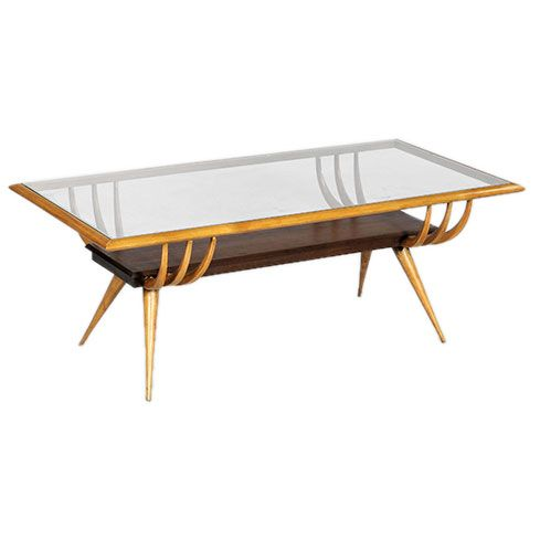 Rib Centre Table By Scapinelli Of Sao Paulo In 2019 Italian