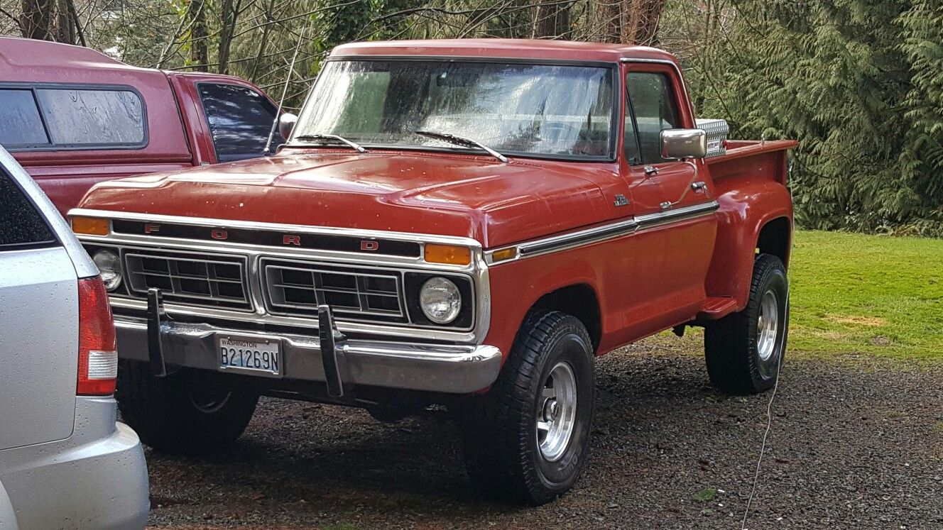 small resolution of 1976 ford f100 4x4 stepside
