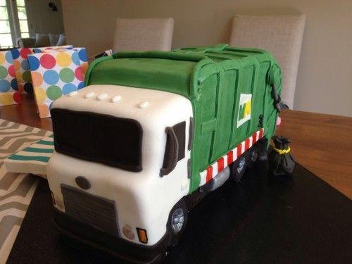 Garbage Truck Cake Tutorial