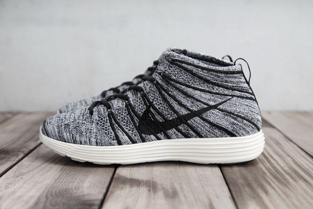 Nike Flyknit Chukka Grey Wolf