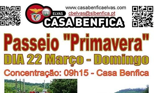 Casa do Benfica de Elvas organiza Passeio Primavera