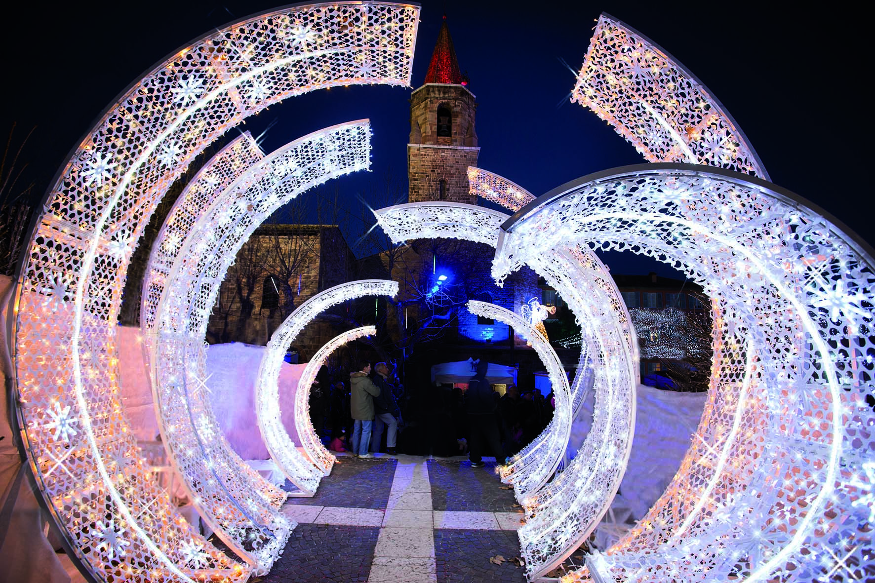 Frejus France 2013 By Blachere Illumination France In 2020 Backdrops Christmas Lights Stage Design