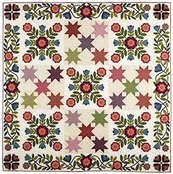 The Seasons on Pomegranate Lane BOM