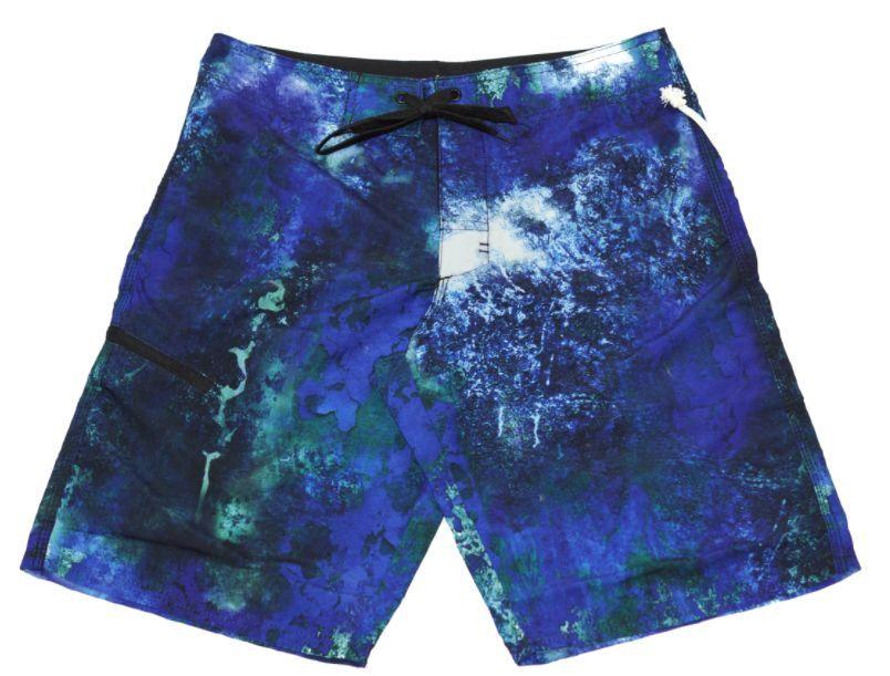 Waimea Men's Blue Corrosion Board-shorts